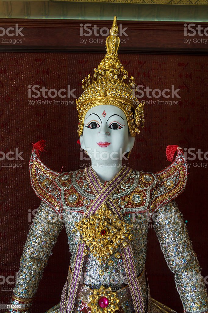 Ramayana Statue royalty-free stock photo