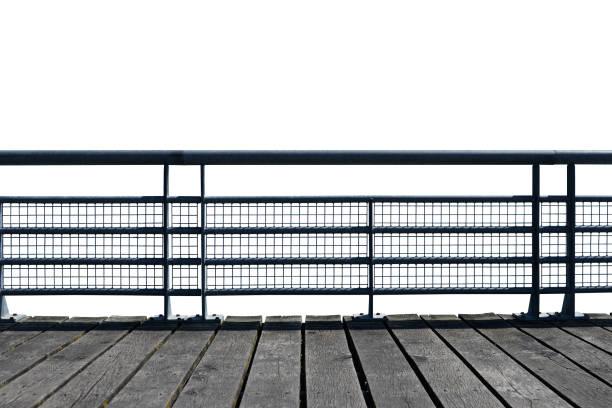 Rambarde ponton stock photo