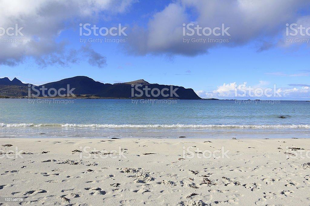 Ramberg Beach royalty-free stock photo