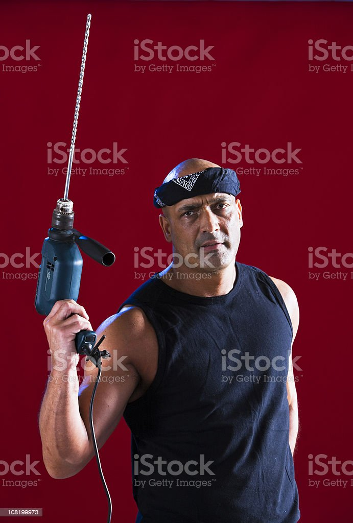 DIY Rambo royalty-free stock photo