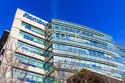 Jan 24, 2020 Sunnyvale / CA / USA - Rambus corporate headquarters in Silicon Valley. Rambus Inc. is an American technology licensing company specializing in intellectual property-based litigation