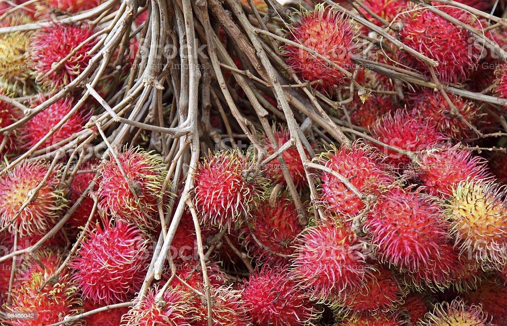 Rambutan frutta foto stock royalty-free