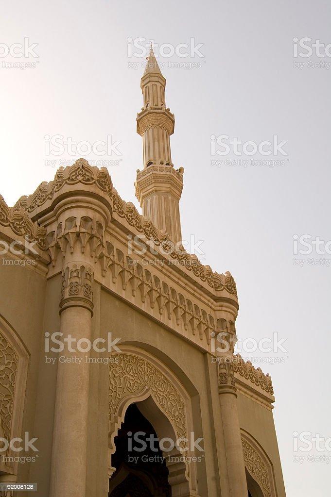 Ramdhan Al- Noor Mosque royalty-free stock photo