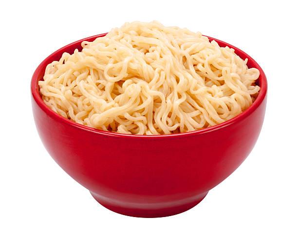 Ramen Noodles in a Bowl stock photo