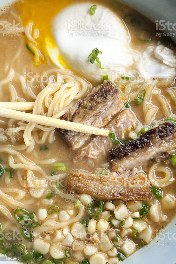 Ramen noodles stock photo