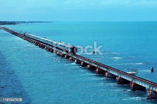 India's most dangerous bridge is Rameshwaram Bridge in South India