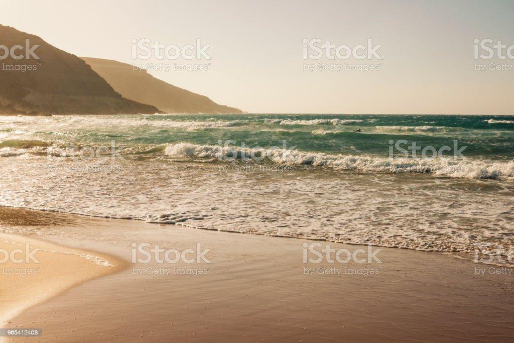 拉姆拉灣, 戈佐島, 馬爾他 - 免版稅名勝古蹟圖庫照片