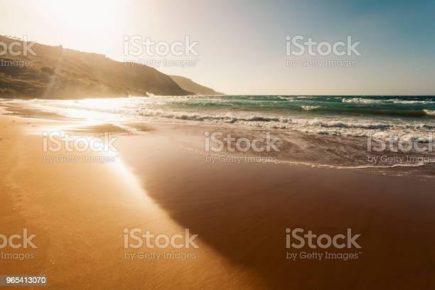 Foto de Ramla Bay Ilha De Gozo Malta e mais fotos de stock de Areia