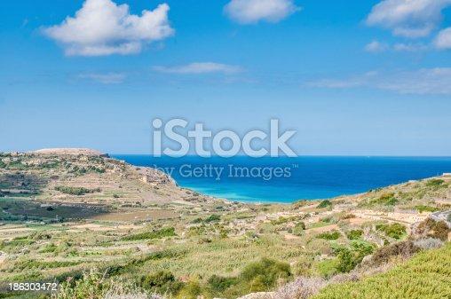 istock Ramla Bay, on the northern side of Gozo, Malta 186303472
