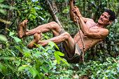 Ramon, son of the jungle in the Yumuri river