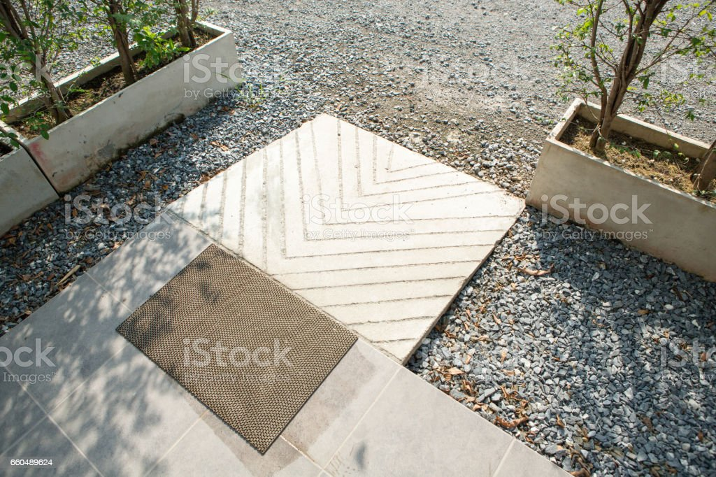 ramp way for support wheelchair disabled people. (Barrier-free access). stock photo