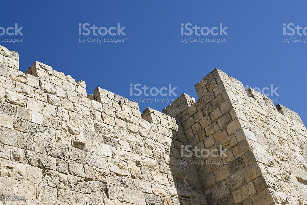Rampart stock photo