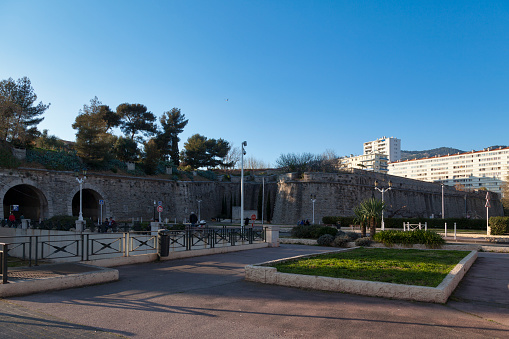 Ramparts Of Toulon Stock Photo - Download Image Now