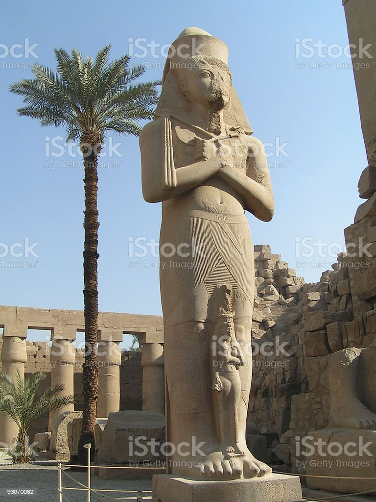 ramses 2nd royalty-free stock photo