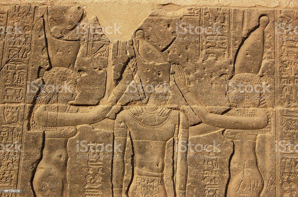 Ramses Coronation royalty-free stock photo