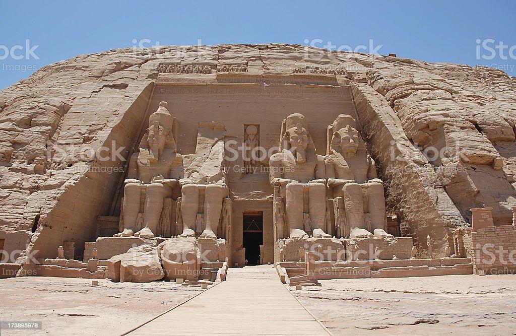 Ramses II stock photo
