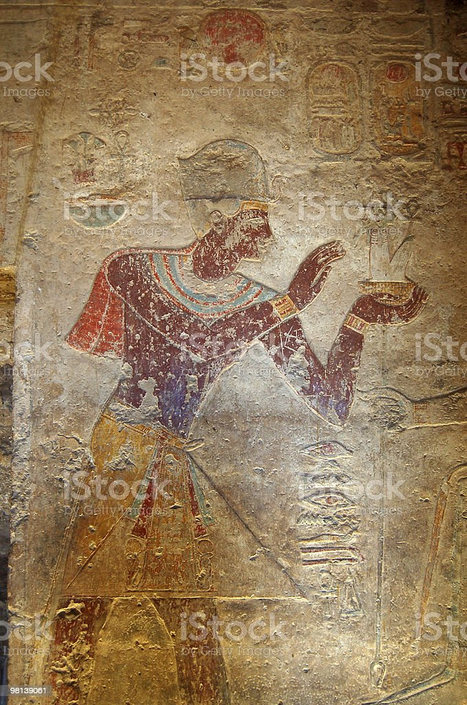 Ramses offering royalty-free stock photo