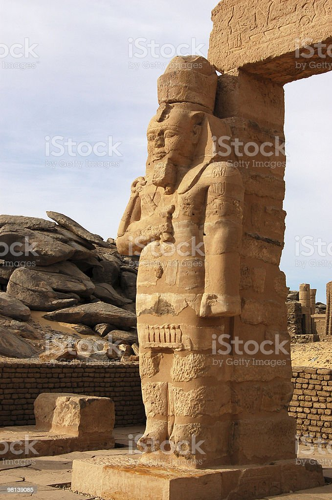 Ramses Statue royalty-free stock photo