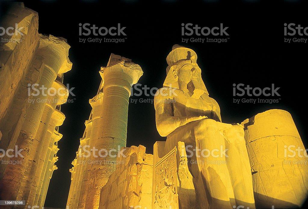 Ramses_Luxor_Temple royalty-free stock photo