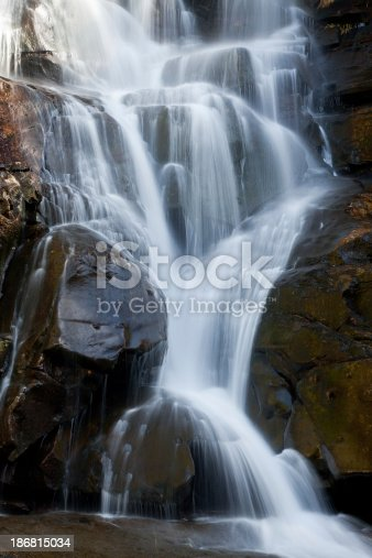 The Ramsey Cascades waterfall in Great Smoky Mountains National Park.
