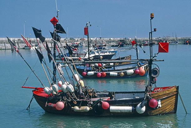 Ramsgate Harbor stock photo