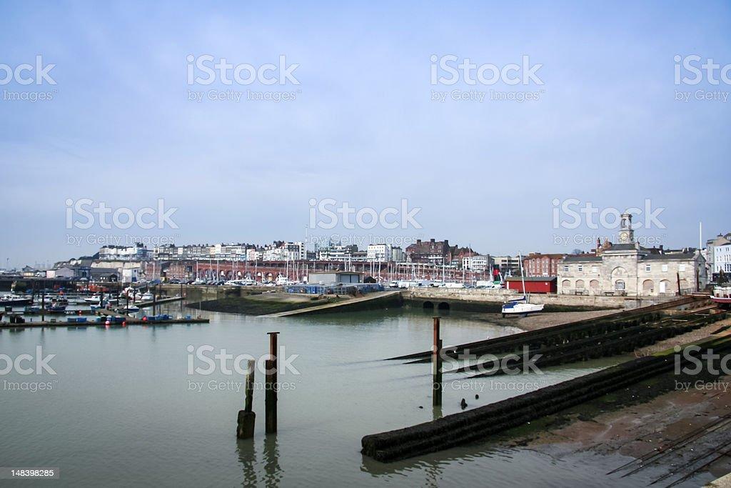 ramsgate royal port kent england stock photo