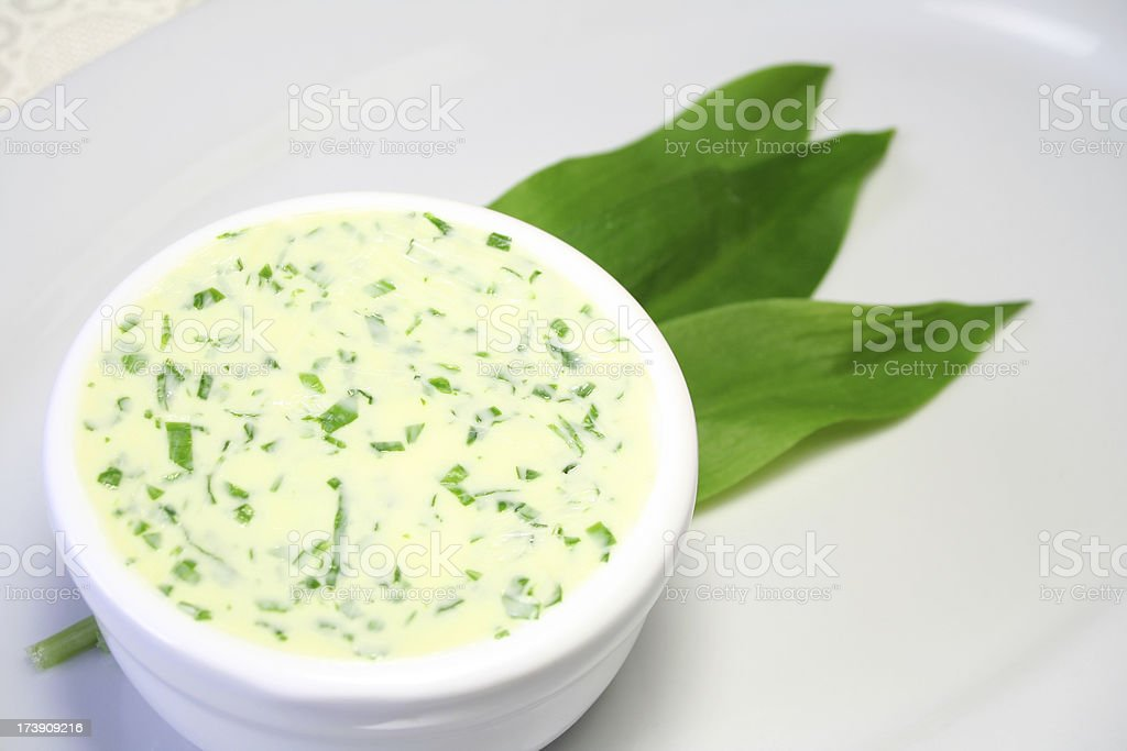 Ramson Butter royalty-free stock photo