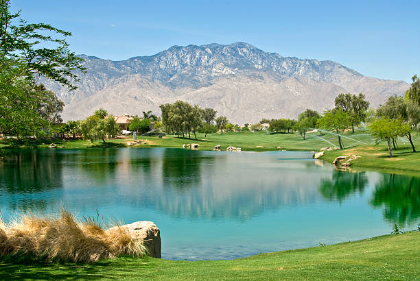Rancho Mirage Golf Community stock photo