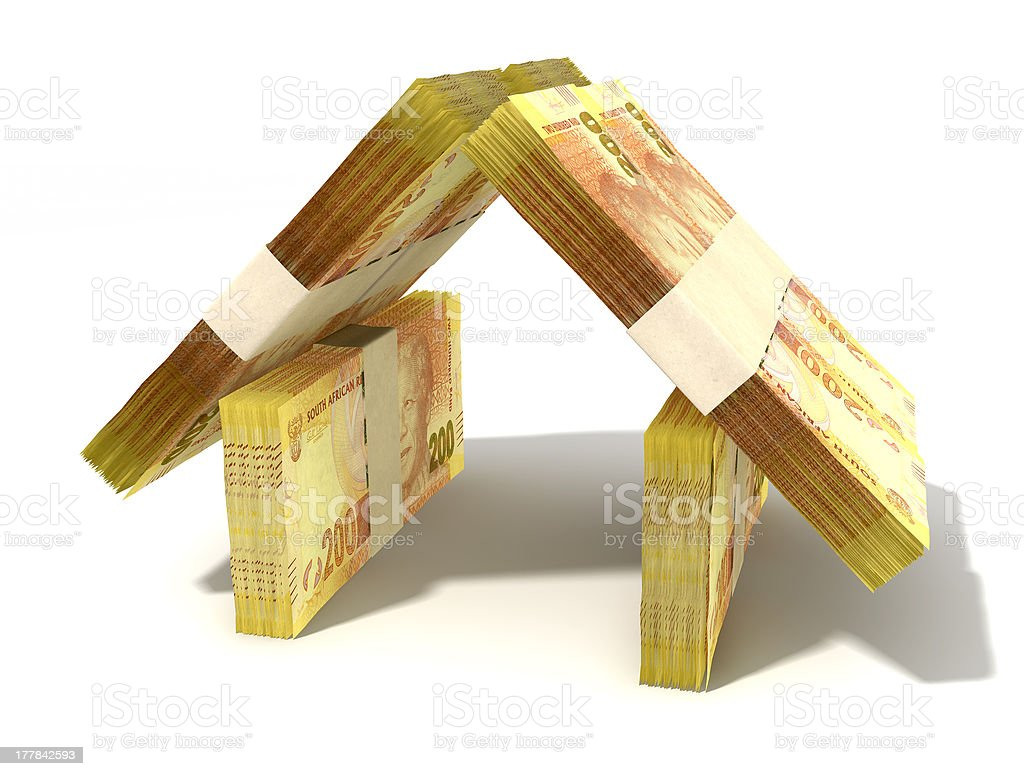 Rand Notes House Perspective stock photo