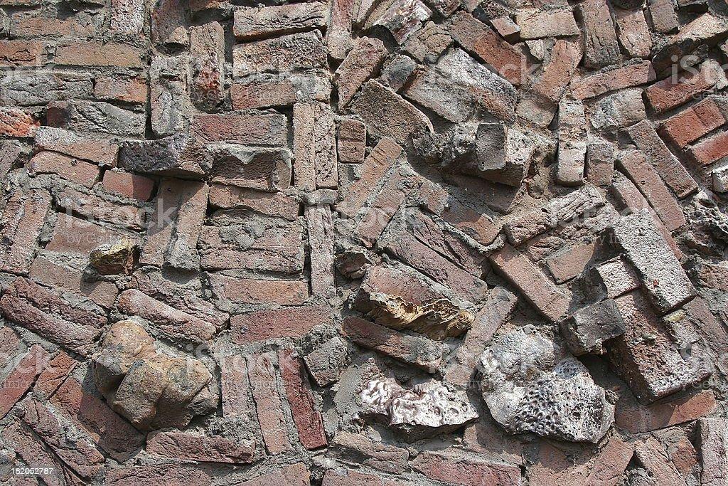 Random bricks #1 royalty-free stock photo