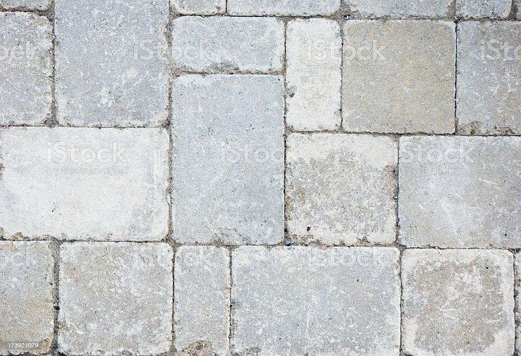 Random paving bricks. royalty-free stock photo