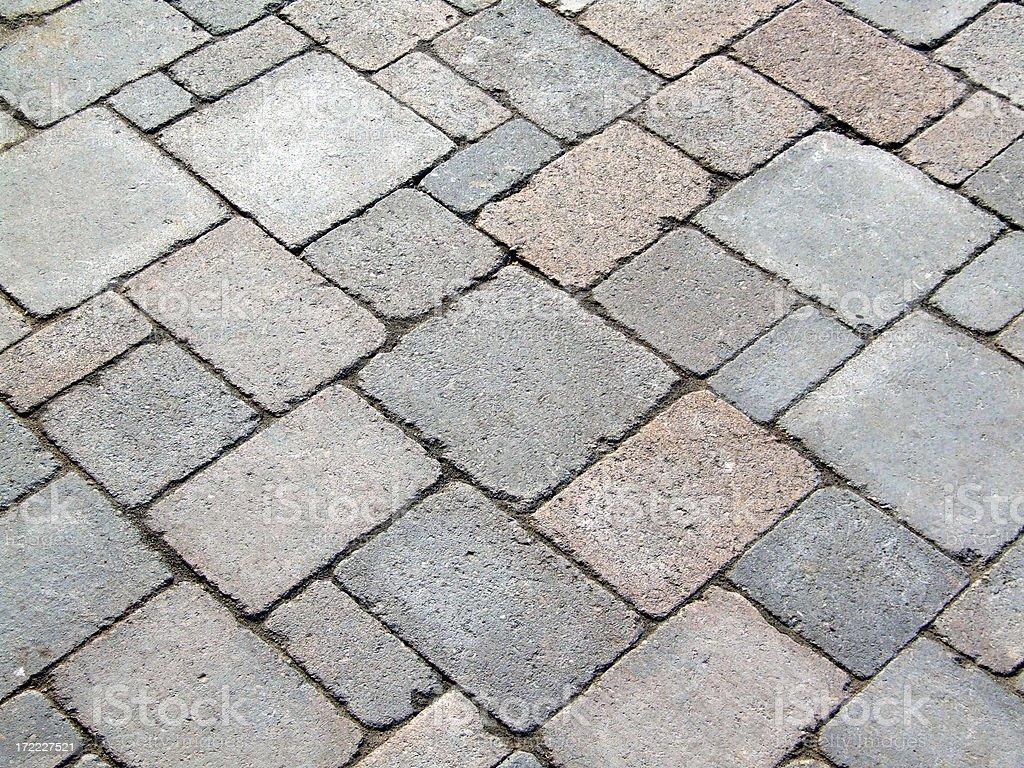 Random Paving Stones royalty-free stock photo