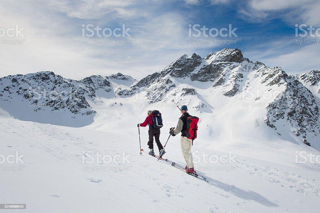 Randonnee ski trails – Foto