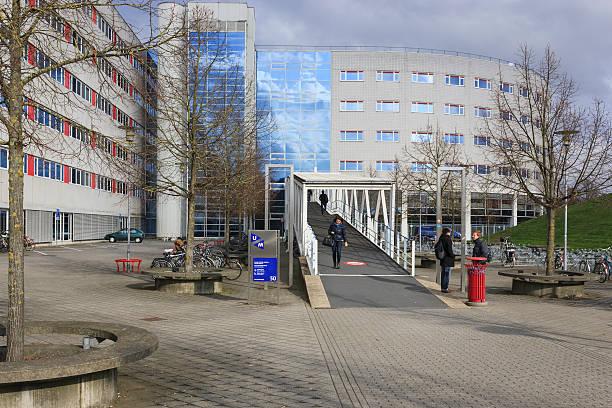 randwyck campus of maastricht university - maastricht stockfoto's en -beelden