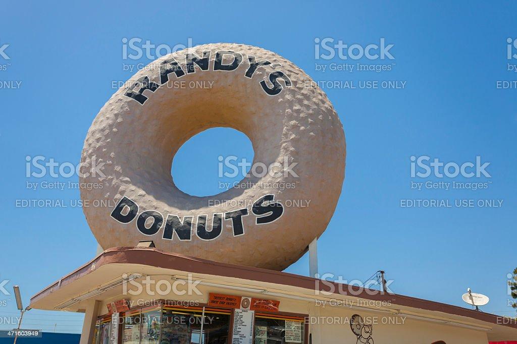 Randys Donuts royalty-free stock photo