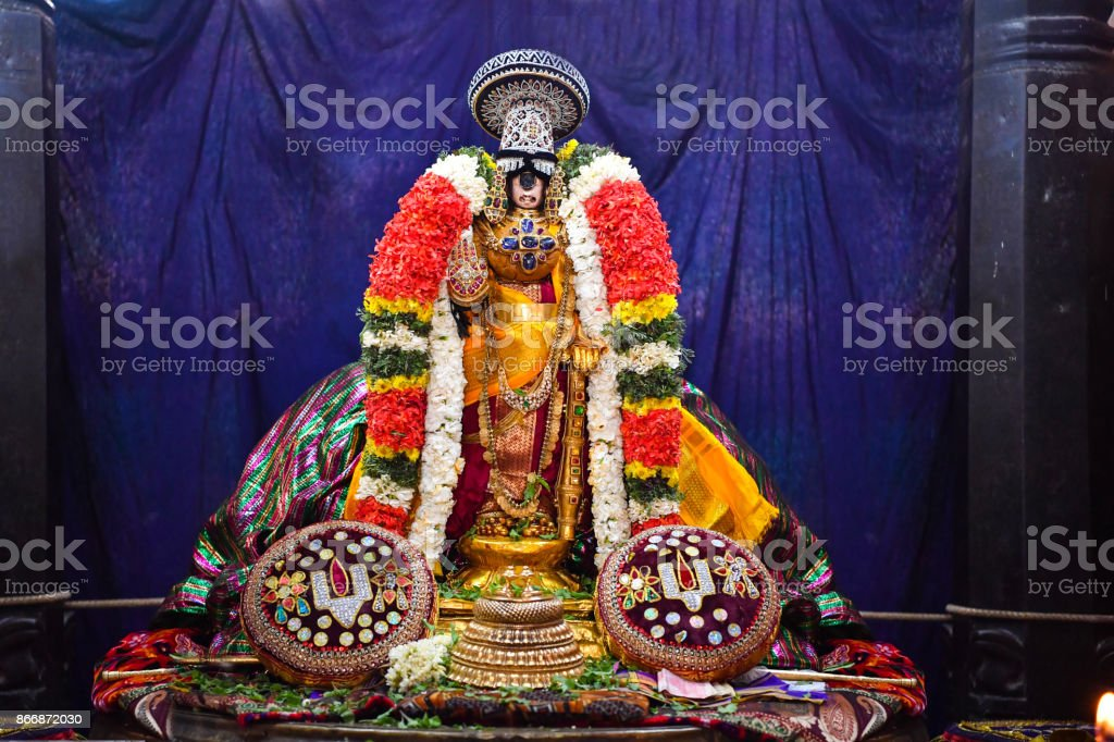 Ranganatha Swamy, Srirangam stock photo