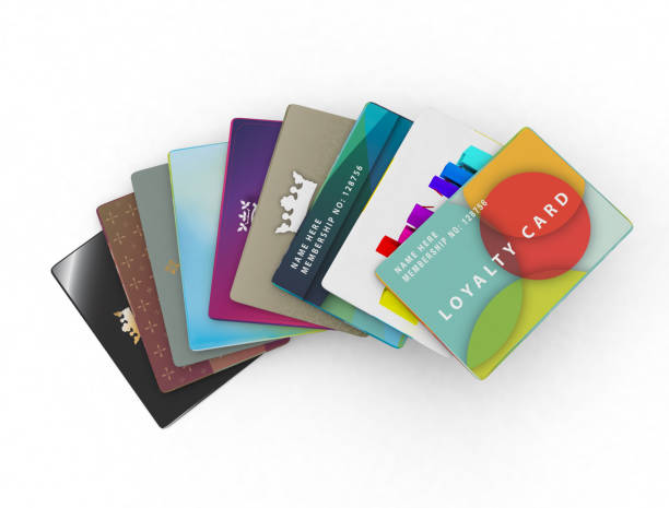 range of loyalty cards for different types of store – Foto