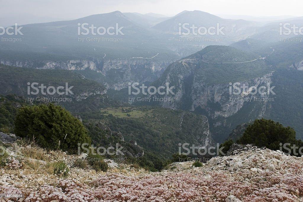 Range of mountains landscape royalty-free stock photo