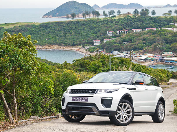 Range Rover Evoque 2016 Test Drive Day Hong Kong, China Jan 25, 2016 : Range Rover Evoque 2016 Test Drive Day on Jan 25 2016 in Hong Kong. range rover stock pictures, royalty-free photos & images