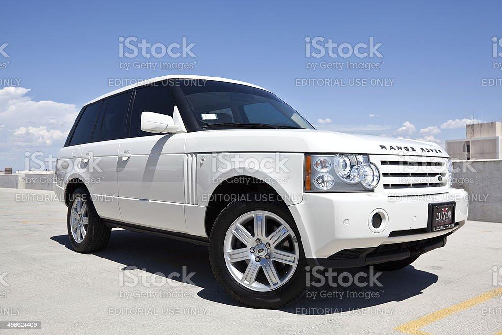 2008 Range Rover. royalty-free stock photo