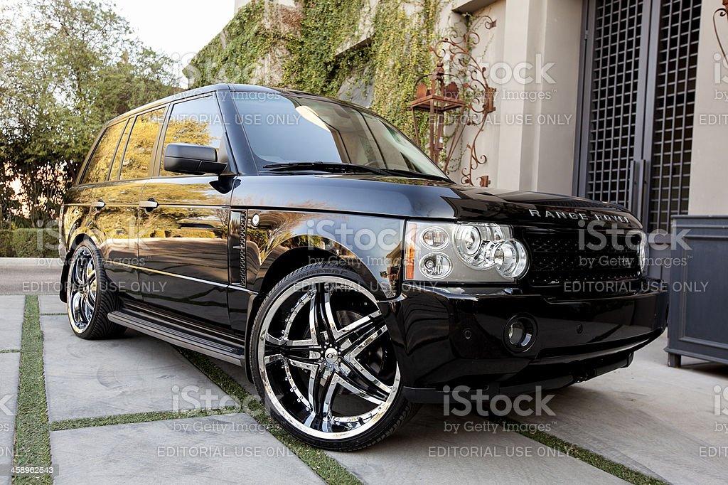 Range Rover stock photo