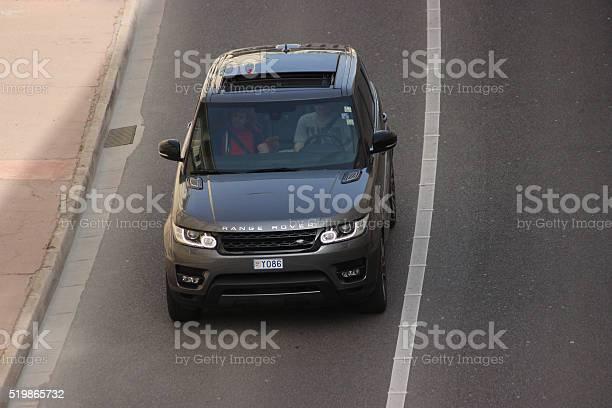 Range Rover Sport In Montecarlo Monaco Stock Photo - Download Image Now
