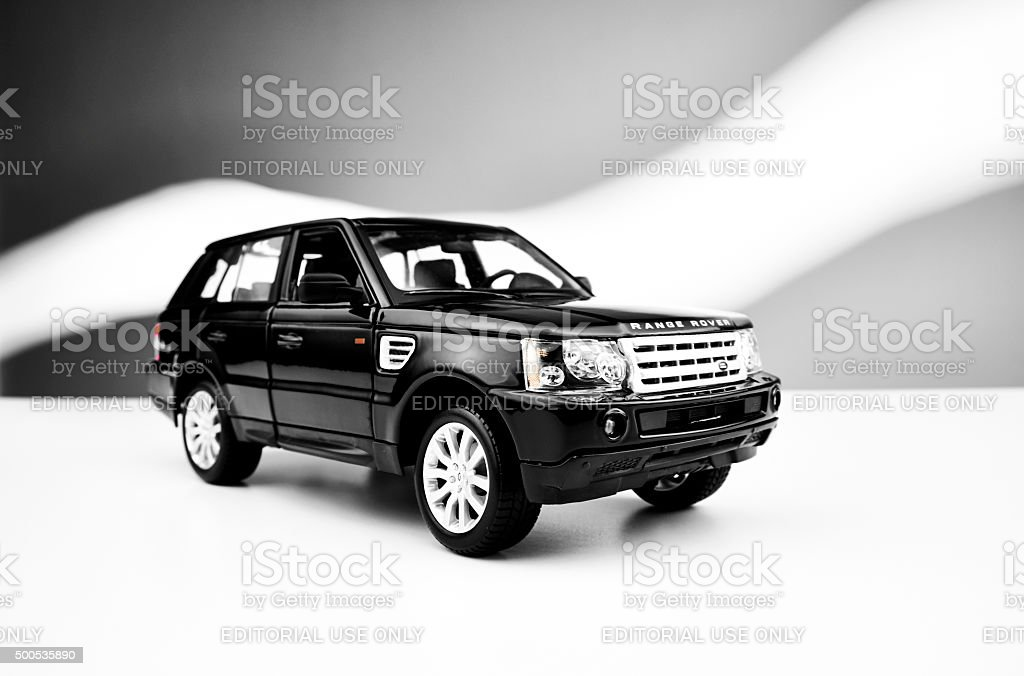 Range Rover Sport Model Car stock photo