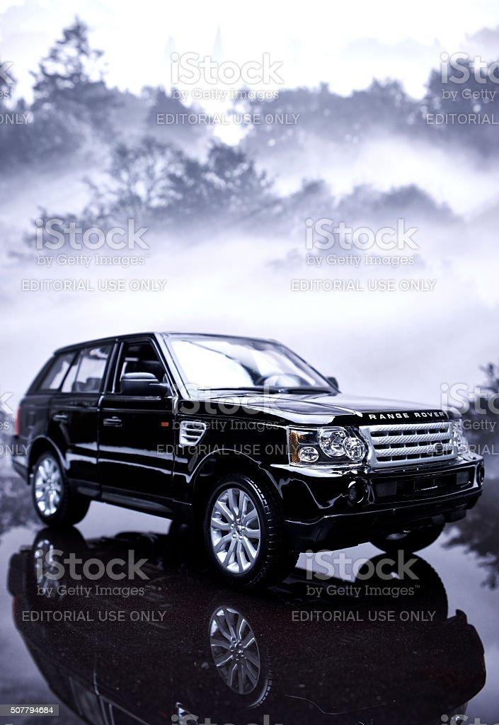 Range Rover Sport Model stock photo