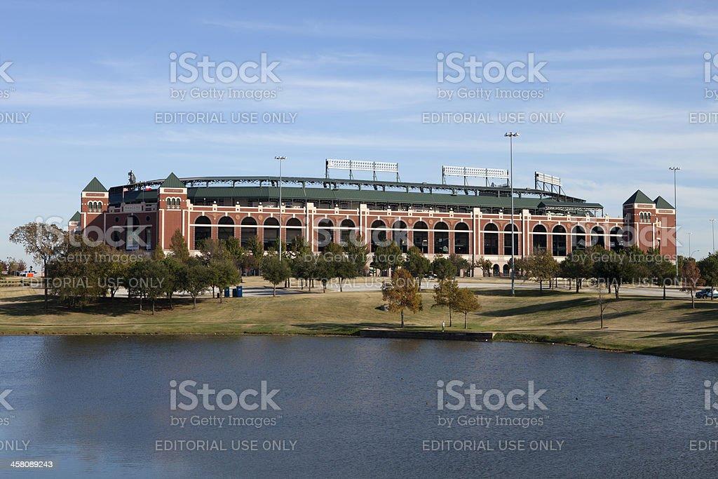 Rangers Ballpark in Arlington, Texas stock photo