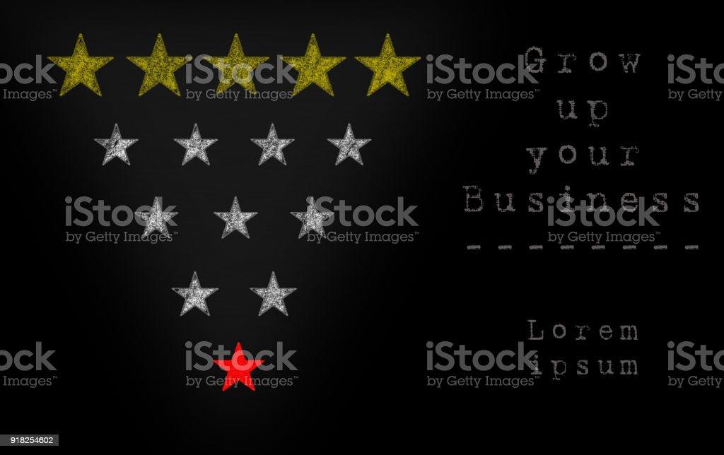 ranking business stock photo