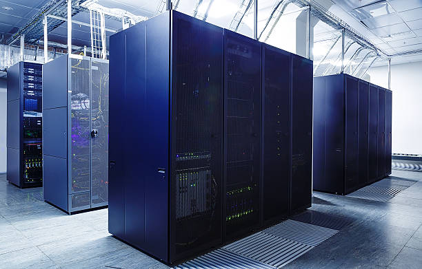 ranks supercomputers in the server room - mainframe stock pictures, royalty-free photos & images