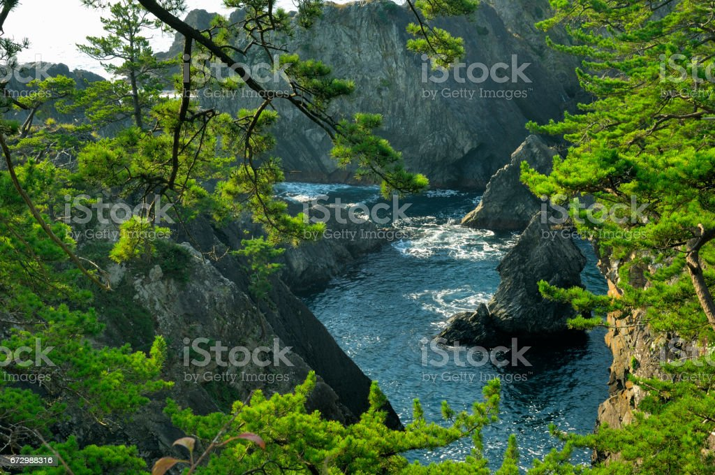 Ranma aeration Valley stock photo