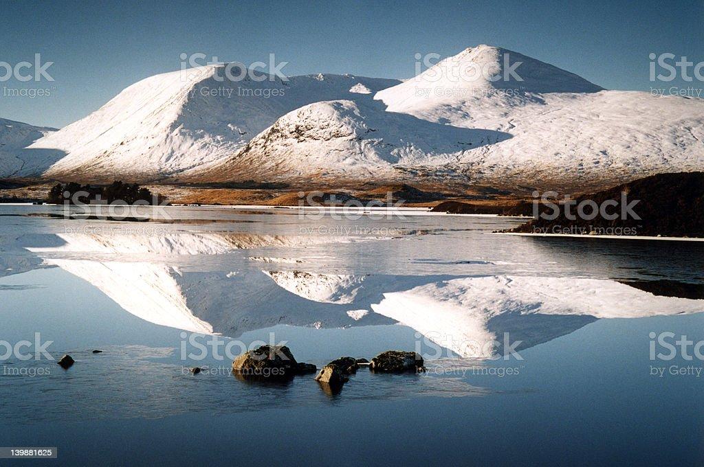 Rannoch Moor (Scotland) royalty-free stock photo