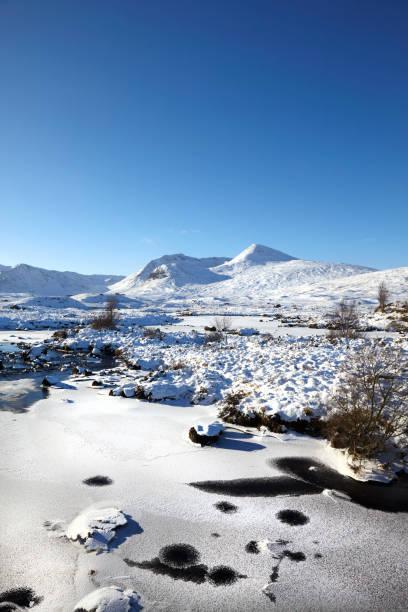 Rannoch Moor, Scottish Highlands, Scotland, UK stock photo